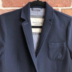 Abercrombie & Fitch Navy School Boy Blazer size L